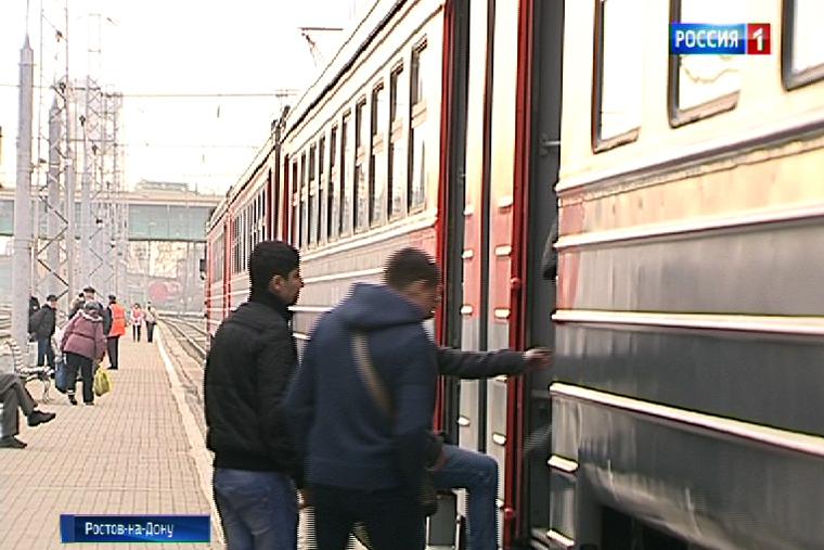 Из-за ремонта ж/д путей вРостовской области изменилось расписание электричек