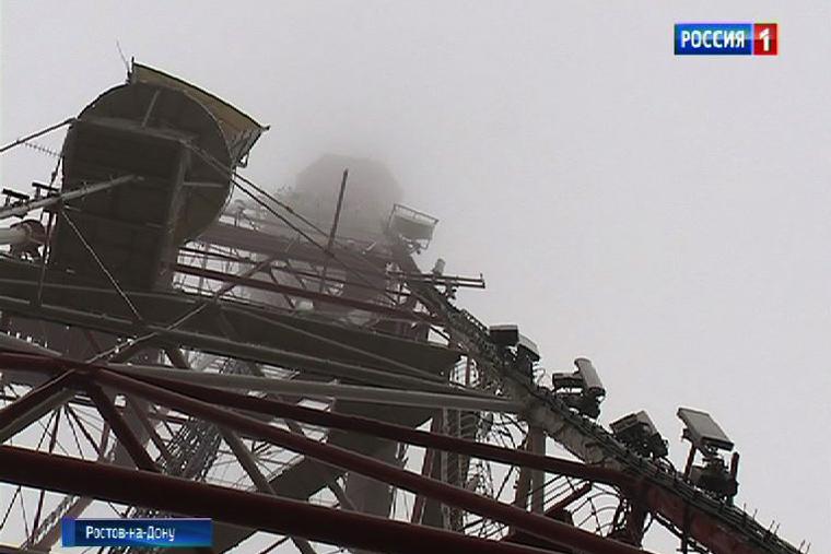 Современное архитектурное освещение установят нателевышке вРостове-на-Дону
