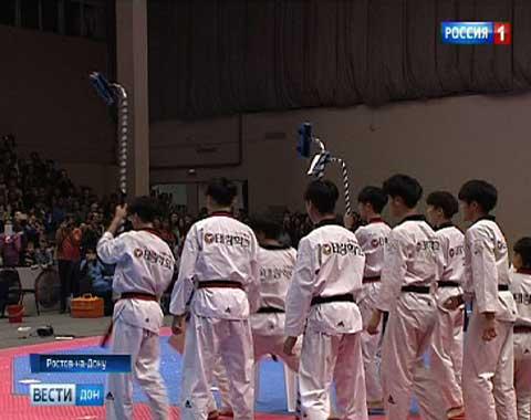 ВРостове впервый раз стартовал чемпионат РФ потхэквондо