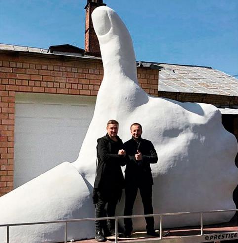 ВРостов привезут четырехметровую скульптуру «Лайк»