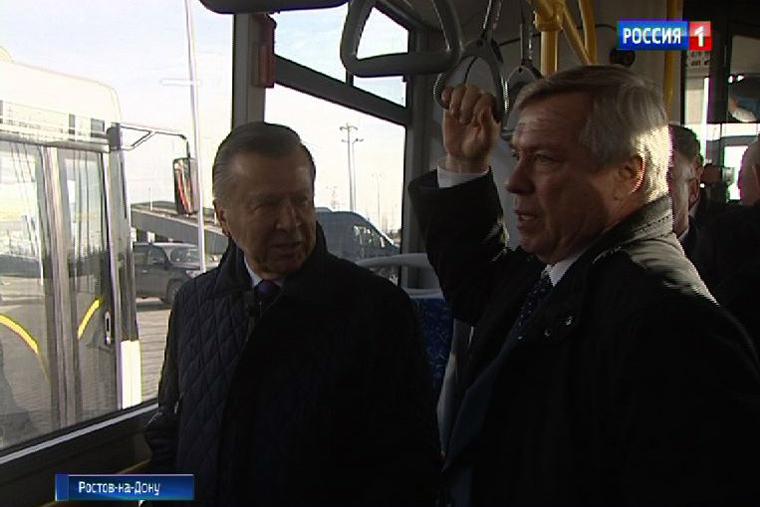 К 2020г. половину автобусов Ростова-на-Дону переведут нагаз