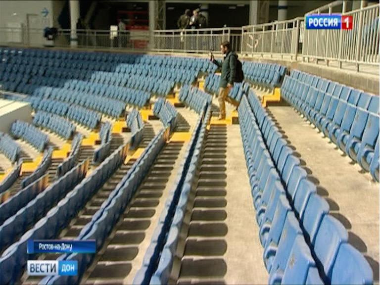 Карпин назвал прекрасным  поле нановом стадионе «Ростов-Арена»