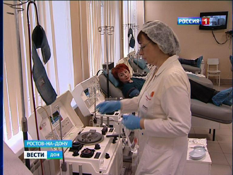 ВРостове-на-Дону пройдет акция «СНовым годом, Служба крови!» 2января 2018