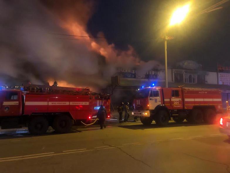Первопричиной  пожара наскладе спиротехникой вРостове-на-Дону назвали короткое замыкание