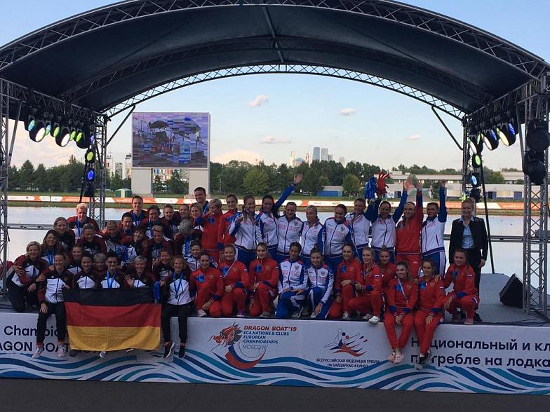 Спортсменки Марий Эл— двукратные бронзовые призёры главенства Европы погребле