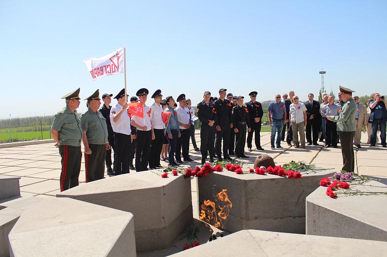 Амурские росгвардейцы провели автопробег «Вахта памяти. Сыны Великой Победы»
