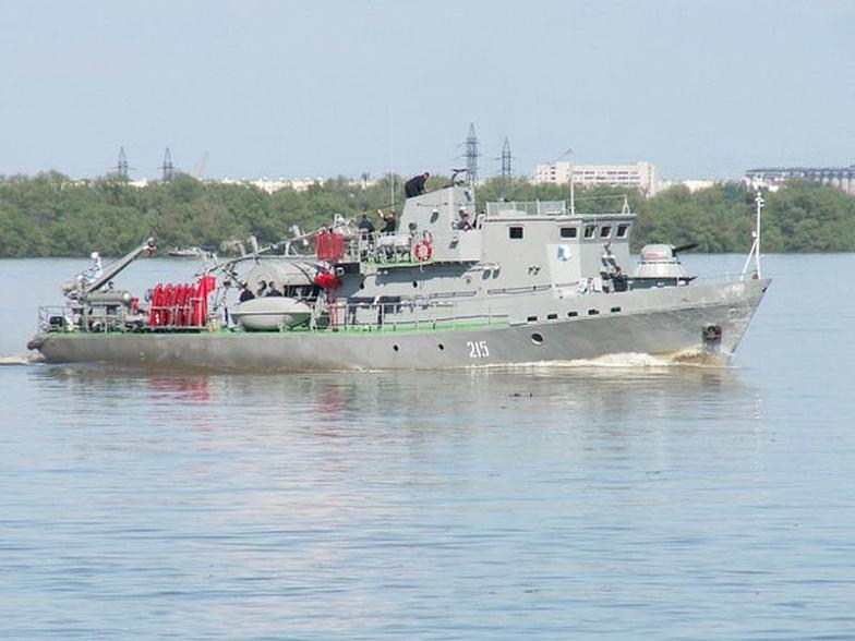 ВРостов прибыл отряд кораблей Каспийской флотилии